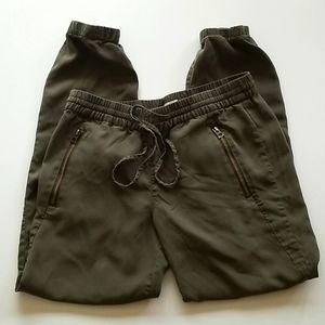 Lucky Brand Jogger Pants Olive Green size small